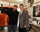Zac Brown and RAM Trucks CEO Fred Diaz Photo Credit: Wire Image